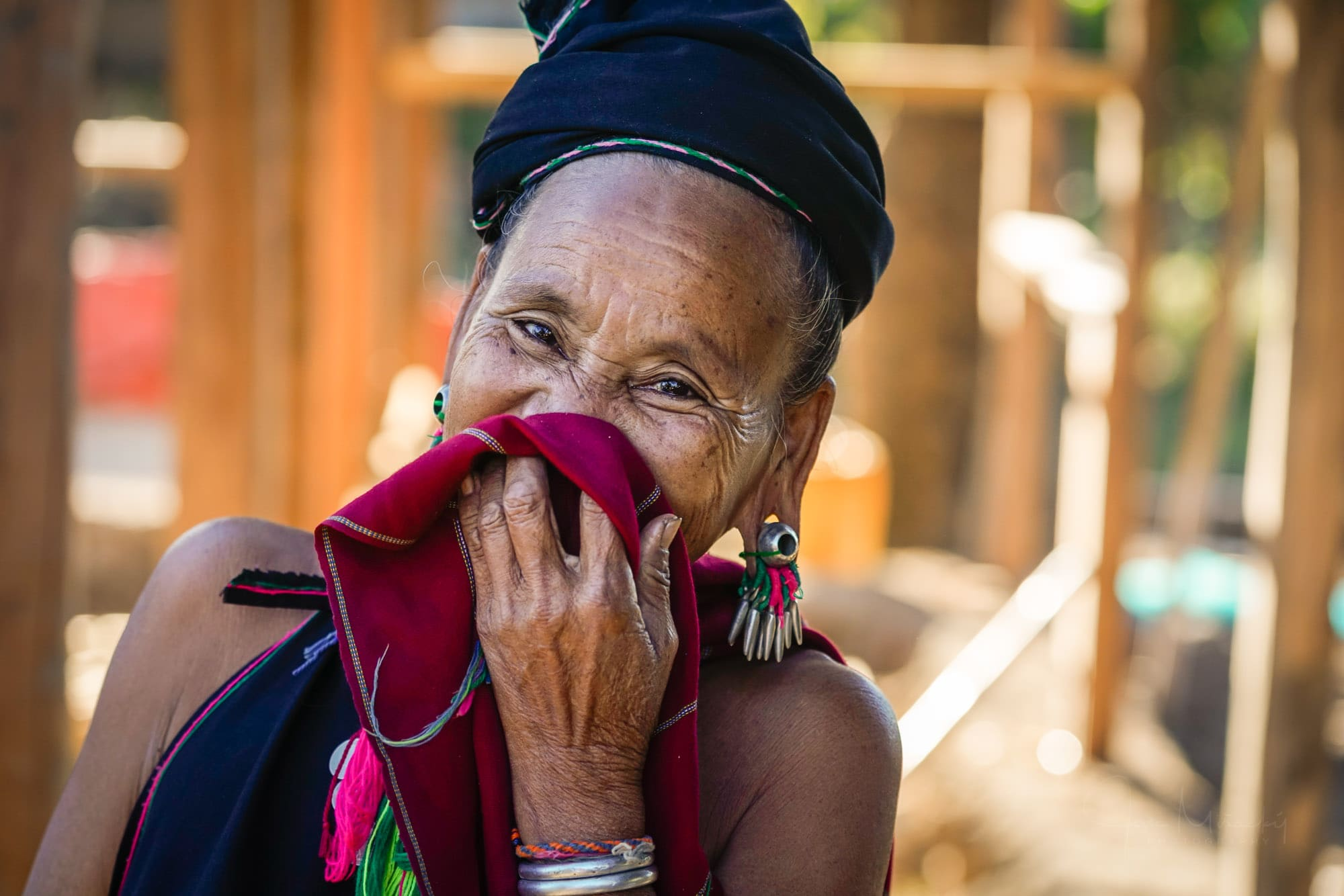 Woman from Kayah tribe
