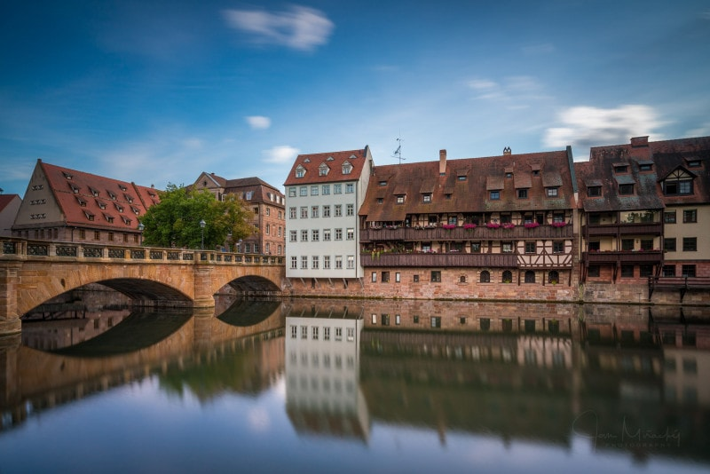 Maxbrücke in Nuremberg, Germany