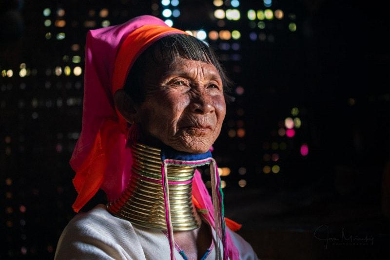 Woman from Kayan tribe, Kayah state, Myanmar