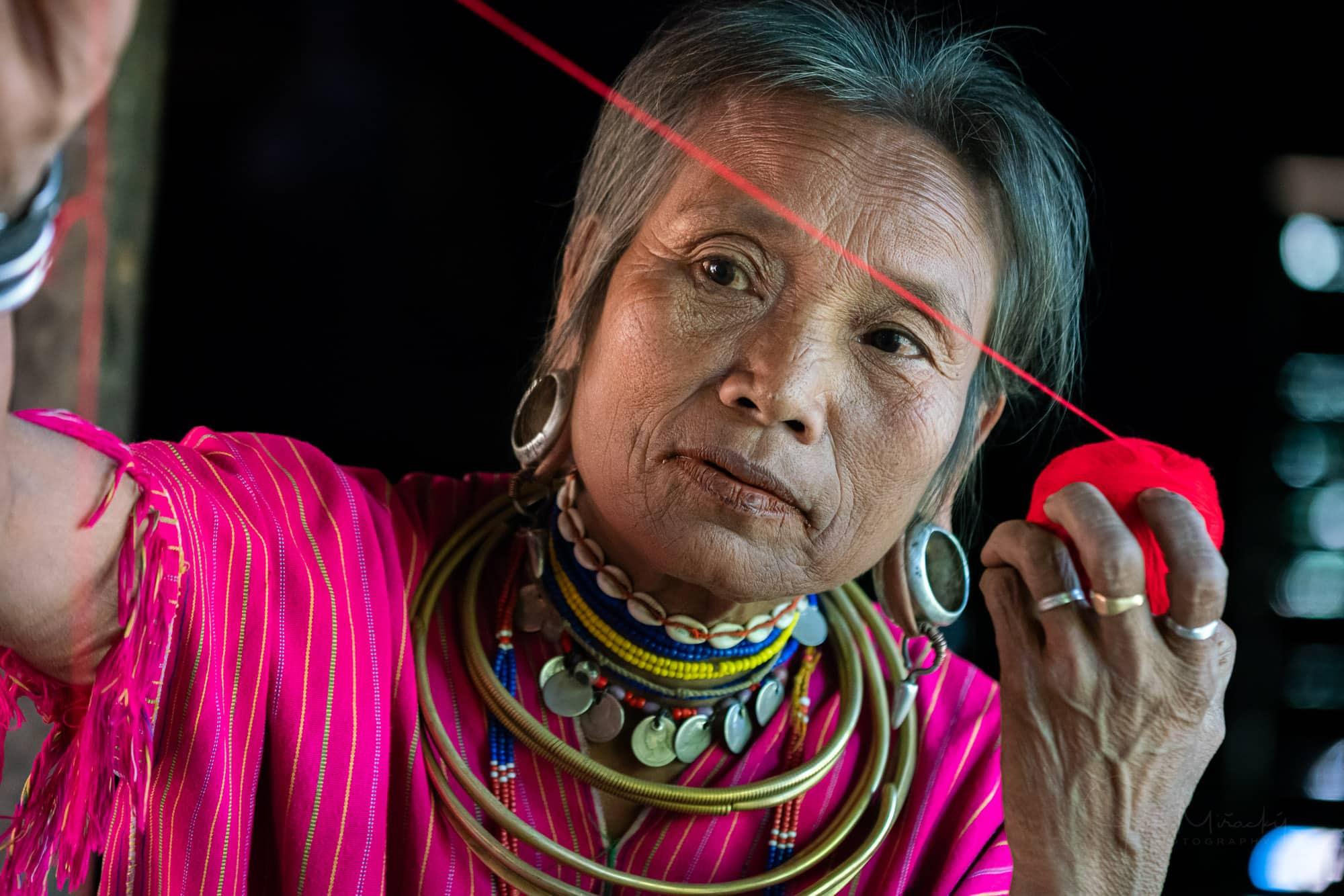 Woman from Kayaw tribe, Kayah state, Myanmar