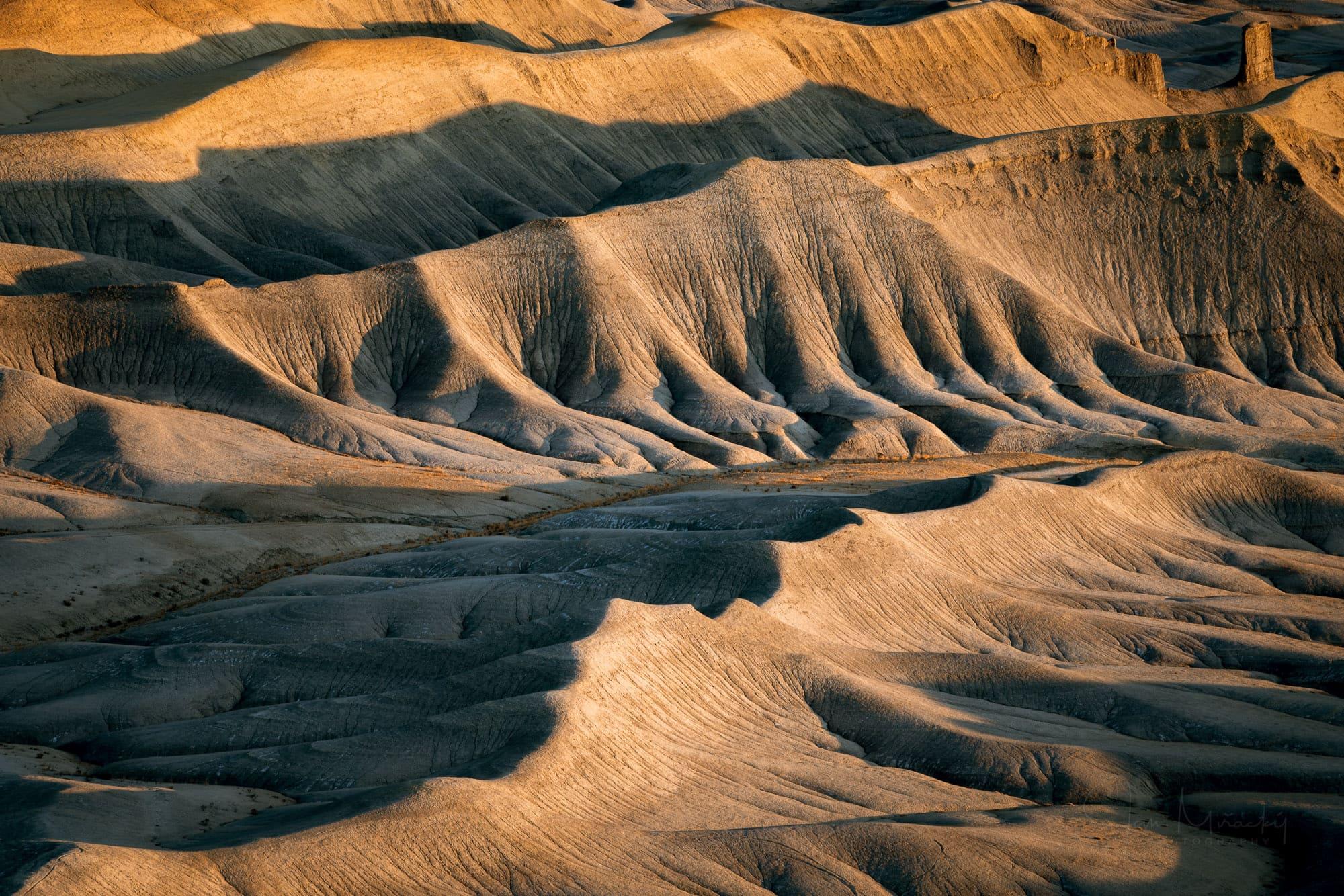 Detail of badlands, Utah