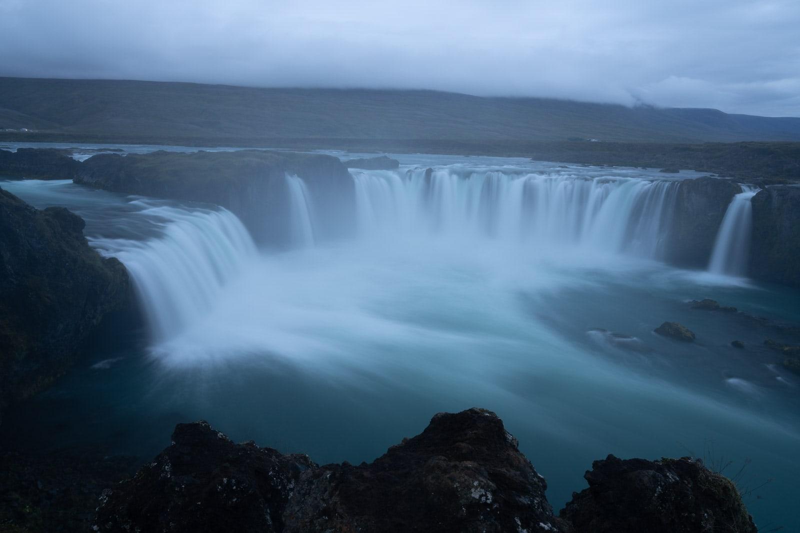 Before - Godafoss water, Iceland