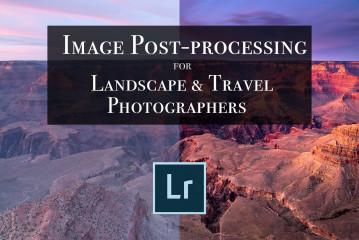 Image post-processing Lightroom service